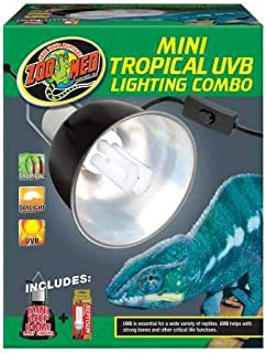Zoo Med Mini Tropical UVB Lighting Single Combo