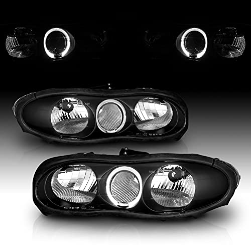 02 camaro headlights halo - 9