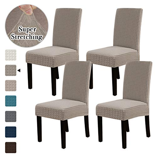 Flamingo P Dining Chair Covers Stretch Chair Covers Parsons Chair Slipcover Chair Seat Protector Cover Chair Covers for Dining Room...