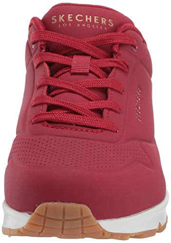SKECHERS 73690 DKRD Zapatilla UNO Stand ON Air Mujer Rojo 38