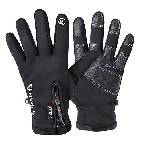 Aishces Winterhandschuhe Handschuhe Touchscreen Outdoor-Sporthandschuhe Fahrradhandschuhe Handschuhe Herren und Frauen Winter (XL)