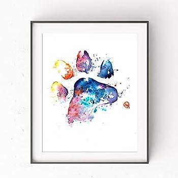 Best watercolor paw print Reviews