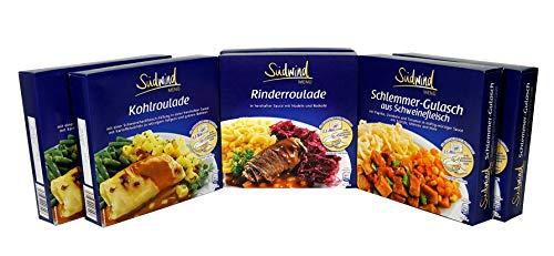 Kennenlernpaket - verschiedene Fertiggerichte für die Mikrowelle - Südwind Lebensmittel