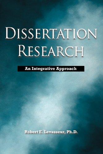 Dissertation Research An Integrative Approach