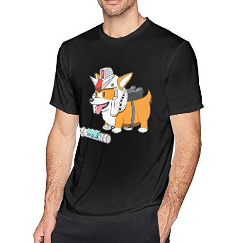 engzhoushi Mo-Bile Suit Gun-Dam Camiseta de Hombre Algodón Casual Camiseta de Manga Corta