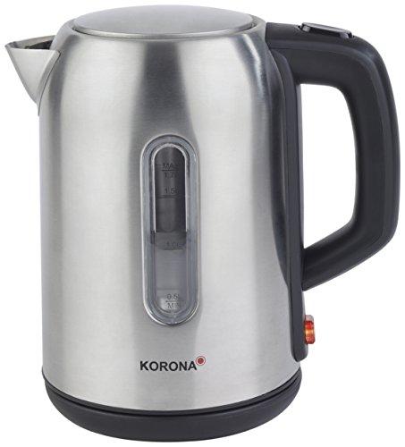 Korona 20350 Edelstahl Wasserkocher mit 1,7 Liter Fassungsvermögen