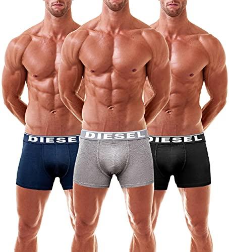 Diesel boxer da uomo DAMIEN (Large, Blu)