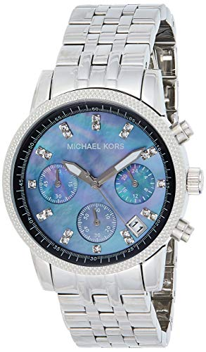 Michael Kors Bracelet Black Mother-of-Pearl Dial Women