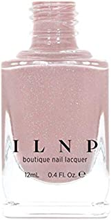 ILNP CEO - Dusty Pink Neutral Nude Nail Polish, Subtle Holographic, Chip Resistant, 7-Free, Non-Toxic, Vegan, Cruelty Free, 12ml