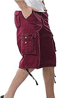 LANGY LIST camo Cargo Shorts for Men Comfortable Outdoor Sports Multi Pocket