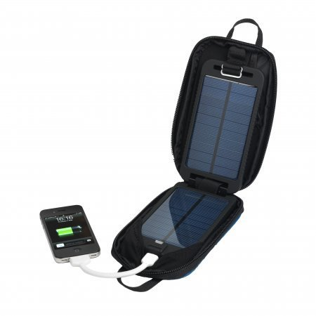 Powertraveller Solarmonkey Adventurer Portable Solar Charger With a 2500 mAh Internal Battery for iPhones, iPads, iPods, mobile phones e-readers, etc.
