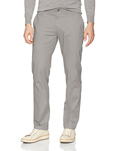 Lee Men's Performance Series Extreme Comfort Slim Pant, Gravel, 32W x 32L