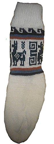 Terrapin Trading Fair Trade Unisex bolivianischen weiche Alpaka Woollen Wollsocken GRÖSSE 4-9