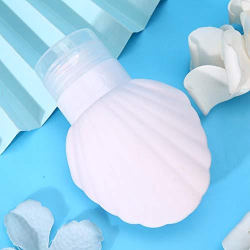Tubo de loción portátil vacío, botellas de gel de ducha ecológicas, loción champú, loción, forma de tubo, cosmética, bote de viaje, 90 ml