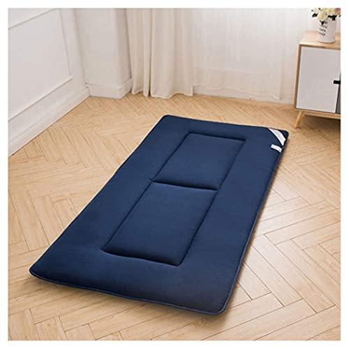 Colchón Tatami Colchón plegable para estudiantes en algodón Aloe Colchón de futón suave y suave con relleno de algodón entero para que los invitados duerman, colchoneta para el hogar, colchón de