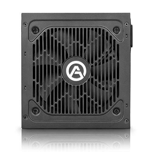ARESGAME AGV 750 W 80+ Bronze Certified Semi-modular ATX Power Supply