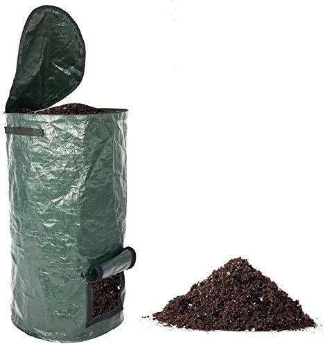 Best Review Of KDGH EcoGeo Compost bin, eco-Friendly Compost Bag, Homemade Organic Fermented PE Comp...
