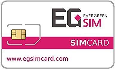 EG SIM Prepaid Simcard for South Korea: Internet: LTE (90 Days)