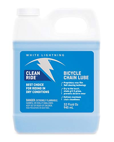 White Lightning Clean Ride - Chain Lube - Squeeze Bottle