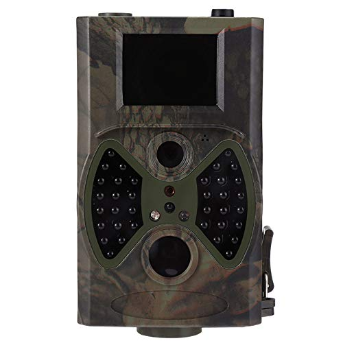 Cámara de Vida Silvestre 12MP 1080P Trail Game Cámaras con la detección de la visión Nocturna Movimiento Activado y 2.4'LCD IR Leds Leds de la Caza de la Vida Silvestre