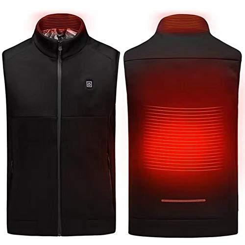 41I2sPcUiWL. SS500  - MOXIN Electric Heated Vest, Graphene Heating Jacket, USB Rechagable Heating Warm Waistcoat Down Gilet, for Hiking…