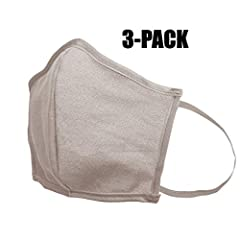 """Item Dimensions - 7.25"""" W x 3.125"""" H ( Flat ) Elastic will match the canvas color Canvas masks are made out of 10 oz natural canvas and 9 oz colored canvas Made in Mexico"""