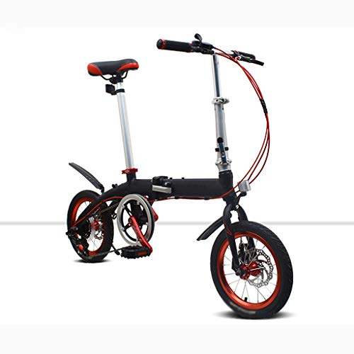 Best Price AIAIⓇ Folding Bicycle Aluminum Alloy Speed Shift Ultra Light Portable Mini Student Adul...