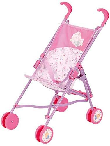 Zapf Creation 826478 BABY born Stroller Puppenbuggy mit Gurtsystem, Puppenzubehör