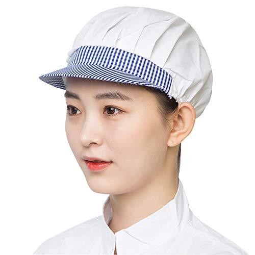Facai - Conjunto de 3 sombreros de cocinero elásticos, unisex, para cocinar, transpirable, gorro de trabajo, taller, cocina, #2