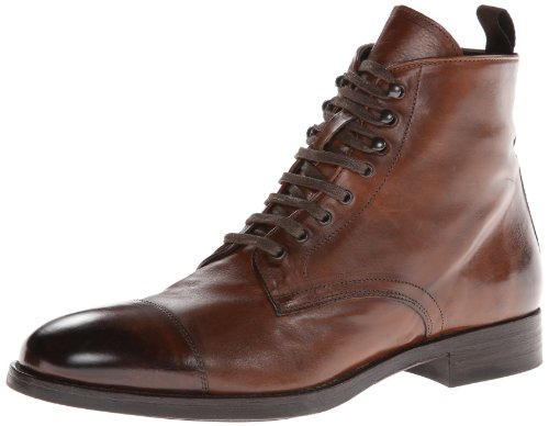 To Boot New York Men's Stallworth Combat Boot,Cognac,11 M US