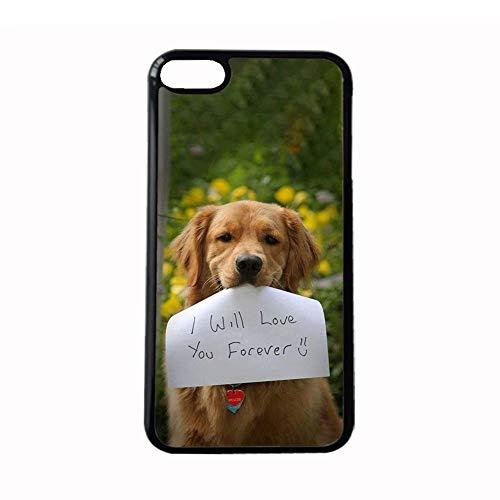Generic Carcasa de plástico duro de buena calidad compatible con Apple iPhone 7Plus 8Plus de 5,5 pulgadas, diseño de Golden Retriever 6
