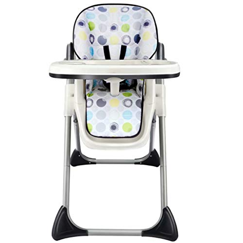 Purchase Infant Toddler High Chair Portable Table Feeding Booster Folding Adjustable Seat,Color:Blac...