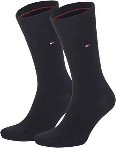 Tommy Hilfiger Socken Classic, Schwarz, 43-46 - 4er Pack