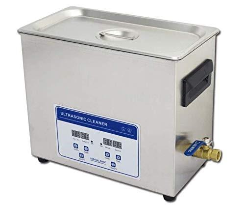 Gowe Hohe Qualität 110V/220V 180W Digital Ultraschall-Reiniger 6.5L industriellen Reinigung Waschmaschine mit Ablaufventil