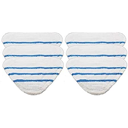 2 x Microfibre Floor Cover Pads for BUSH SMB1501UK SMB1501 Steam Cleaner Mop