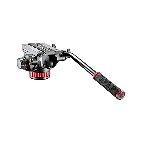 Manfrotto 502 Testa  Video in Alluminio con Base Piatta,...