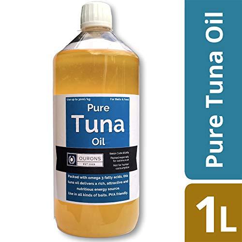 1000 ml de aceite de atún puro - Atrayente cebo de pesca