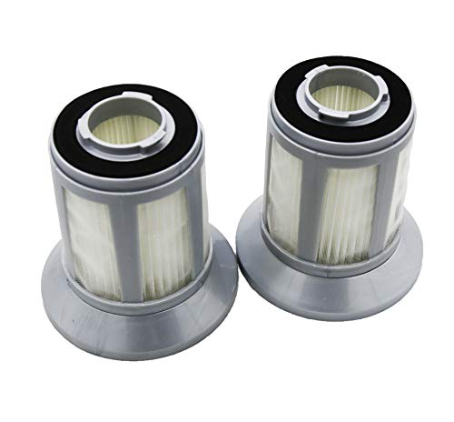 Green Label 2 Pack Replacement Filter 1613056 for Bissell 2156A Zing Bagless Canister Vacuum Cleaners