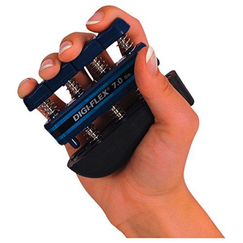 Digi-Flex Handtrainer Fingertrainer Unterarmtrainer Fingerhantel, 3,2 kg BLAU