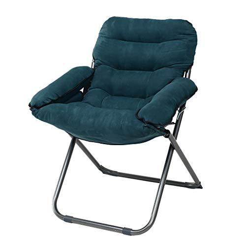 GYH Chaise pliante Chaises de lune pour adultes - Chaise pliante de bureau rembourrée @@ (Couleur : A)