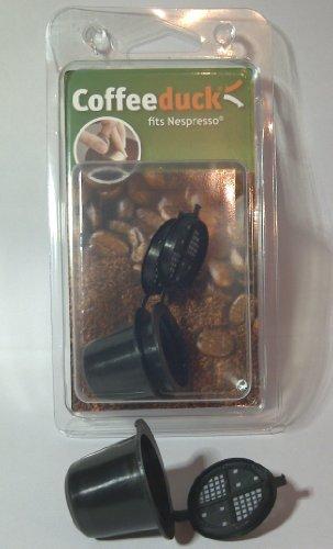 Coffeeduck 3 Nespresso-Kapseln, nachfüllbar, umweltfreundlich, universell