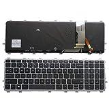 Laptop English Backlit Keyboard for HP Envy 15-J 17-J 720244-001 711505-001 736685-001 6037B0093301 V140626AS2 Laptop US New