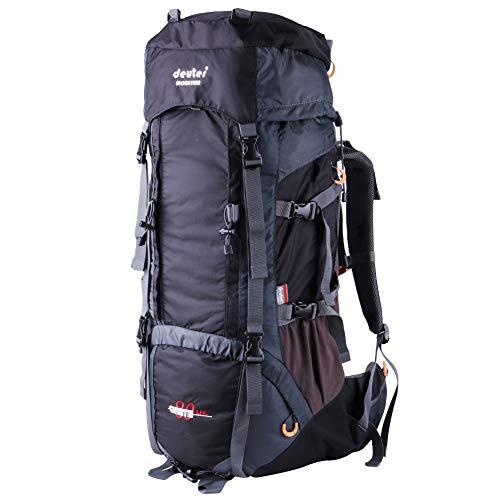 Hiking Backpack Large Capacity 80L +10L Sports Waterproof for Men Women...