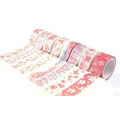 NOTAG マスキングテープ 和紙テープ ステッカーテープ 手帳テープ 和紙小巻ロール DIY 飾り 週間日記 可愛...