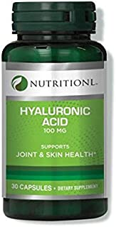 Nutritionl Hyaluronic Acid 100 mg 30 Capsules