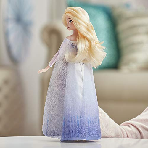 Disney Frozen Musical Adventure Elsa Singing Doll, Sings 'Show Yourself' Song from 2 Movie, Elsa Toy for Kids