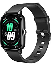 Smart Watch for Android Phones iOS, Tanzato IP68 Waterproof Smartwatch for Men Women 1.7'' Full-Touch Activity Fitness Tracker Watch with Heart Rate Sleep Monitor, Pedometer, Blood Oxygen