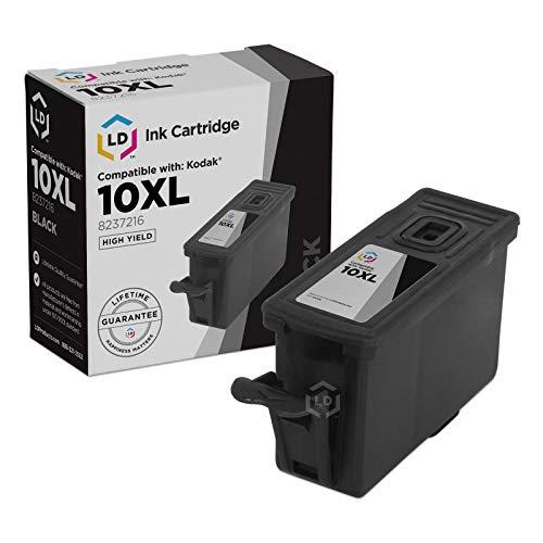 LD © Kodak Compatible #10XL / 10 Set of 2 Ink Cartridges: 1-8237216 High Yield Black & 1-8946501 Color Cartridge Photo #2