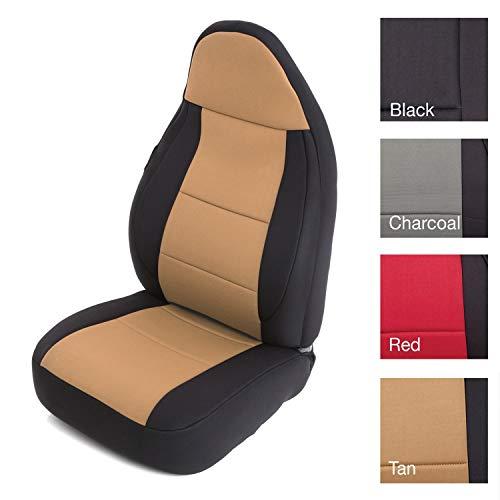 Smittybilt 471225 Neoprene Seat Cover Set,Beige/Black