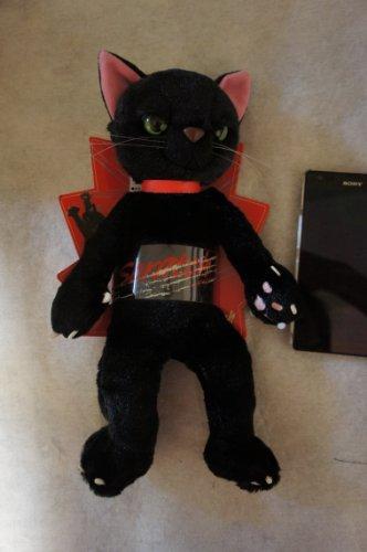 スクラッチ ぬいぐるみ(MS) 猫 高さ28cm 黒